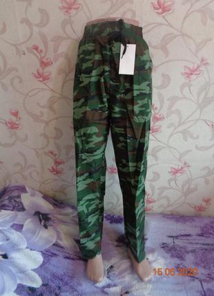Мужские камуфляжные штаны. 48-52 последний размер. цена шара