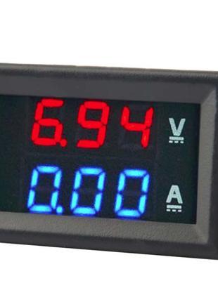 Вольтметр Амперметр электронный цифровой