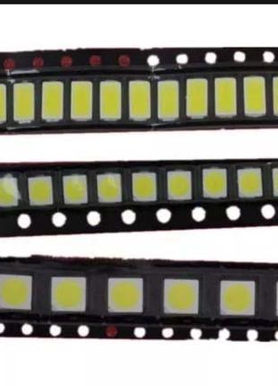 Светодиод SMD 2835 (3/6/9 вольт) для ремонта ламп