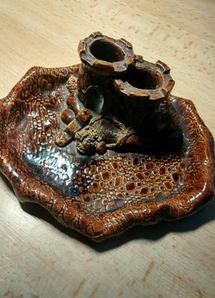 Пепельница керамическая Каменец-Подольский