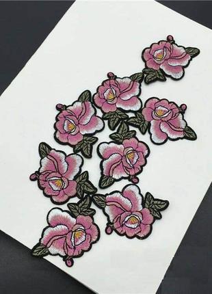 Нашивки, аппликации, патчи цветы