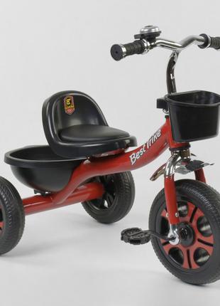 Трехколесный велосипед Best Trike 3577 красный, колеса пена