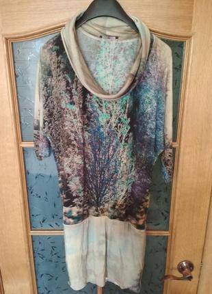 Красивое мягкое платье от pietro filipi, p. s