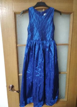Красивое нарядное платье от cinda на 11-14 лет