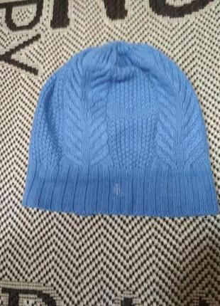 Шикарная классическая шапка бини от ralph lauren