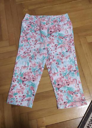 Классные капри шорты с фламинго от pepperts,p.152