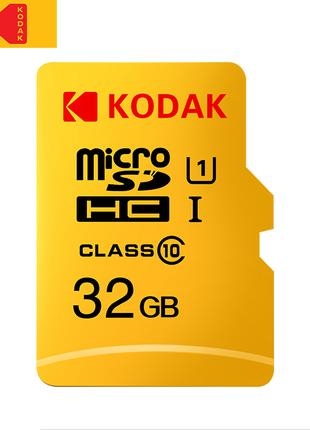 Карта памяти Kodak UHS-U1 microSDHC 32Gb class10