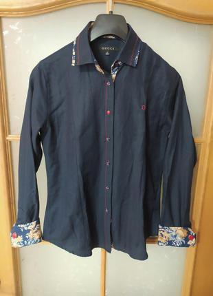 Рубашка блуза с запонками gucci ,p. 38-40