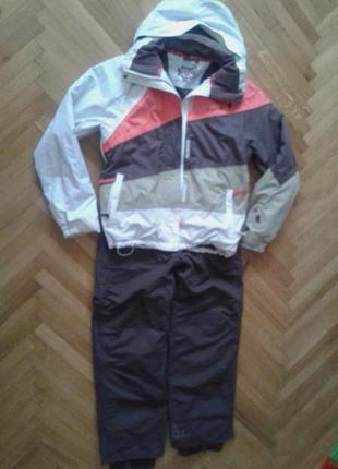 Классный лыжный костюм куртка и штаны от rip curl,p.xs-s