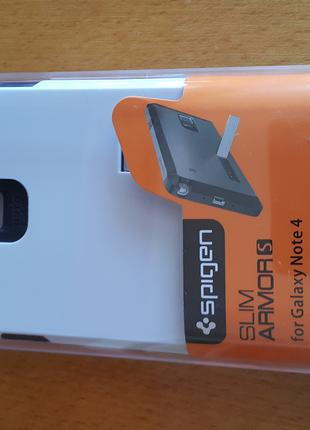 Чехол spigen Samsung galaxy note 4