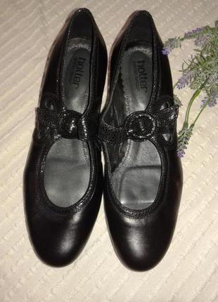 Отличные новые туфли от hotter  comfort system, p.40/41