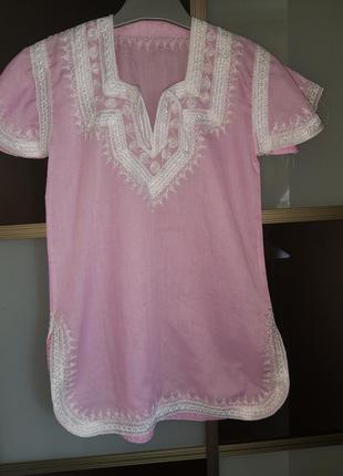 Платье летнее на 6-7 лет