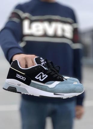Бомбезные кроссовки 💪new balance 1500 blue black💪