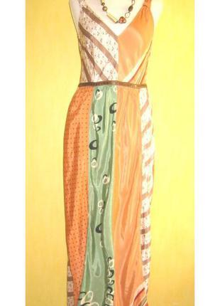 Разноцветное платье в технике пэтчворк day birger et mikkelsen...