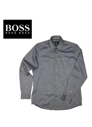 Рубашка boss hugo boss egular fit - m