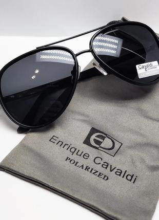 Стильные мужские очки авиаторы с поляризацией