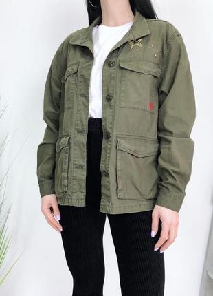 Пиджак куртка  хаки милитари