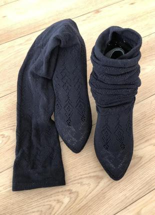Туфель-чулок, туфли, ботфорты