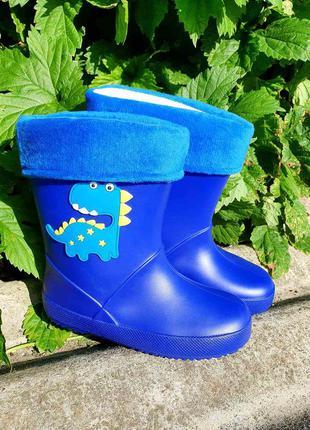 Детские резиновые сапоги bbt чобітки р. 25-30
