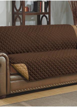 Покрывало на диван с подлокотниками + 2 подушки в подарок