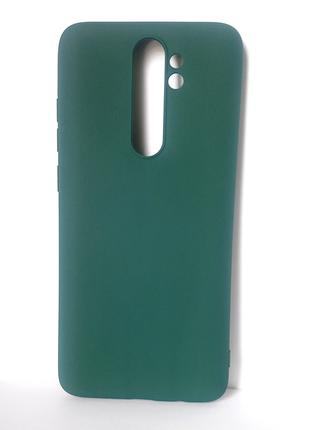 Чехол redmi note 8 pro green
