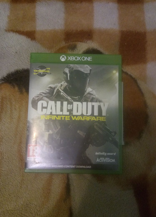 Диск Call of Duty Xbox one