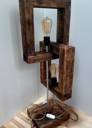 Светильник настольный/напольный ручной работы ID2