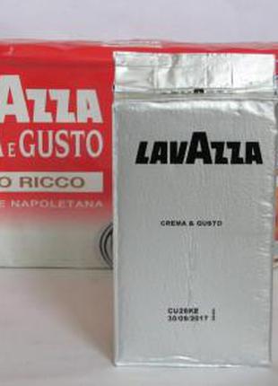 Кофе Lavazza Crema e Gusto Ricco молотый 250 гр