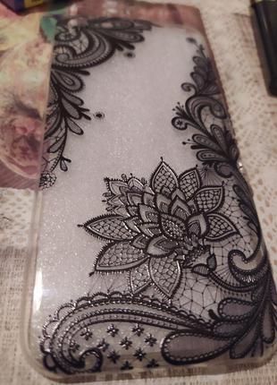 """Чехол """"Lacy Flower"""" на iPhone 7"""