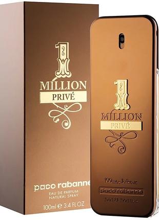 Paco Rabanne 1 Million Prive EDP Мужская парфюмированная вода 100