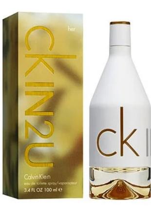 Calvin Klein CK IN2U Her Женская туалетная вода 100 мл