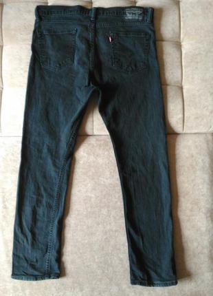 Джинсы levis 423 тёмно-серого цвета w34 l30