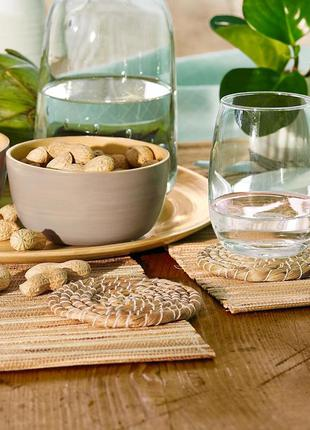 Бамбуковые салфетки для сервировки стола - tcm tchibo германия