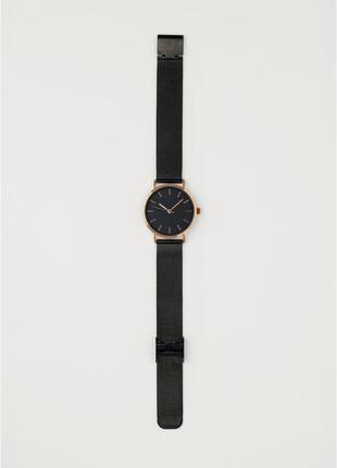 Женские наручные часы h&m с металлическим ремешком