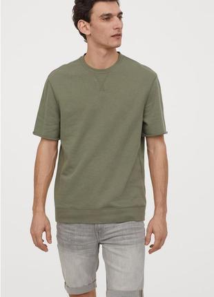 Мужские джинсовые шорты freefit slim. h&m. размер 34 уценка