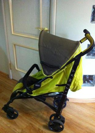 Коляска Chicco lite way, легкая прогулочная коляска, коляска трос