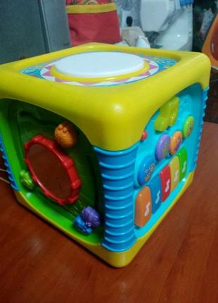 Развивающая детская игрушка, музыкальный куб