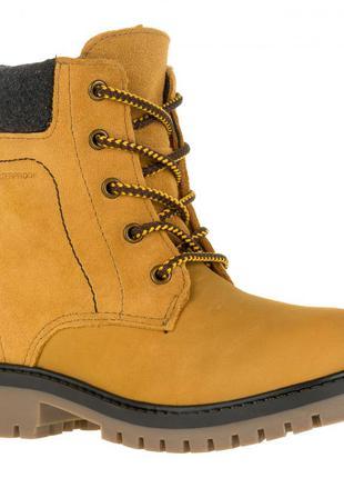Kamik зимние ботинки из нубука. размер 38