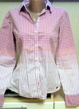 Брендовая рубашка. м р. 46 – фото, замеры