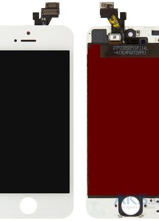 iphone 5 дисплей білий