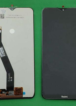 Дисплейный модуль (дисплей + сенсор) для Xiaomi Redmi 8, черный