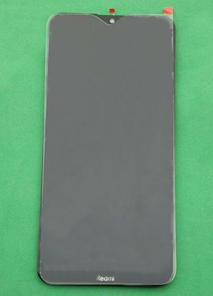 Дисплейный модуль (дисплей + сенсор) для Xiaomi Redmi 8A, черный