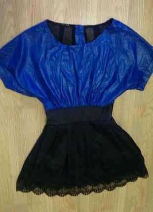 ✅очень красивое платье! верх эко кожа нижняя юбка куколка с кр...