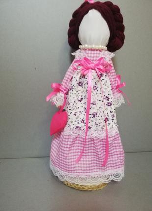 Кукла-мотанка «Любава» Рост 36см. Handmade. Подарок-оберег