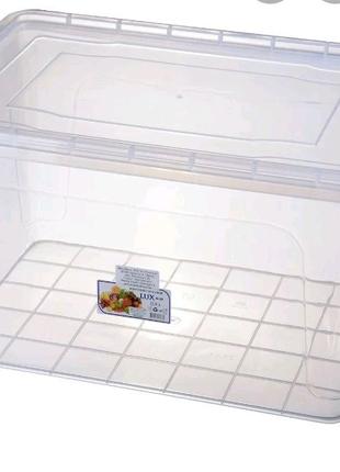 Контейнер для улиток на 23 л, пищевой контейнер на 23 л / конт дл