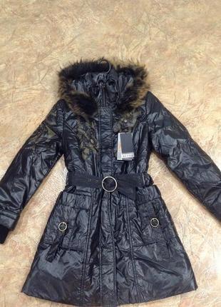 Пальто теплое.