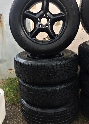 Оригінальні диски з резиною BMW 245/65 R17