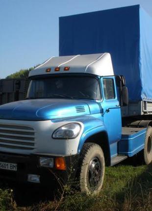 Автомобиль ЗИЛ 130, полуприцеп ОДАЗ
