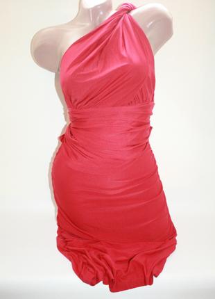 Новое красное платье трансформер 13 вариантов вечернее, коктей...