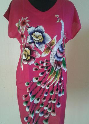 Женские яркие летние платья. 100% вискоза-штапель.
